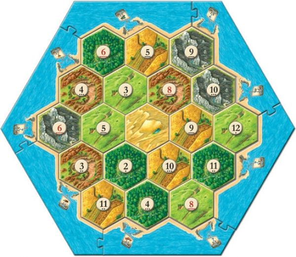 The Settlers Of Catan Board Interactive Introduction