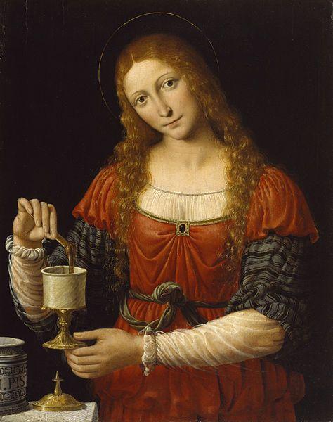 'Mary Magdalen' by Andrea Solario