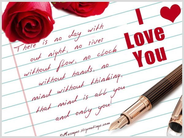 Love Notes for Her and him Messages, Greetings and Wishes - Messages, Wordings and Gift Ideas