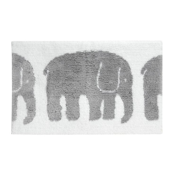 Elefantti Bath Mat 50x80cm, Gris, Finlayson