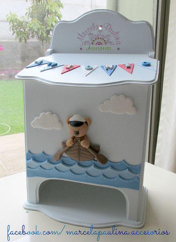 180 best pa alera trupan images on pinterest painted - Cajas decoradas para bebes ...