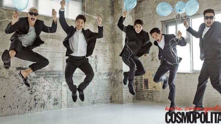 g.o.d - Cosmopolitan Magazine September Issue '14