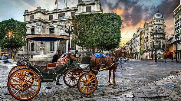 Coche de caballo, Sevilla