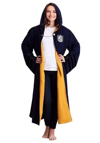 91919628f34 Adult Vintage Harry Potter Hogwarts Hufflepuff Robe#Harry, #Vintage ...