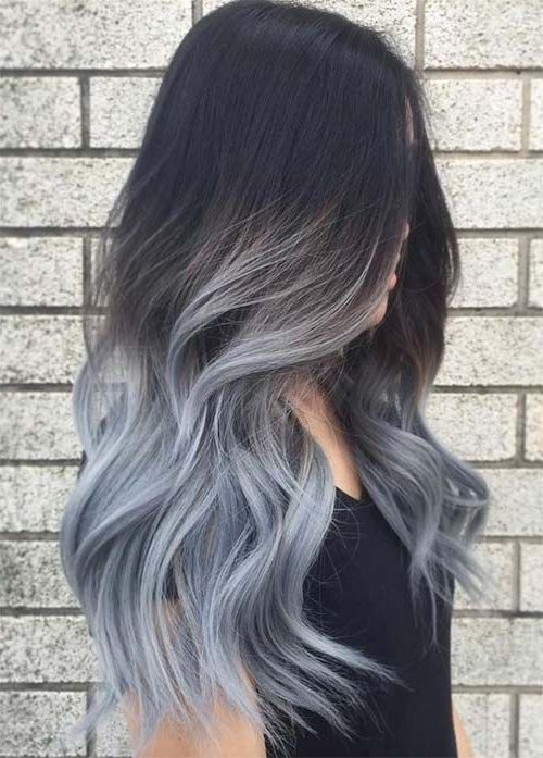 40 Completely Beautiful Silver Grey Hair Shade Concepts