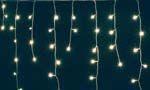 Ghirlanda LED-uri alb cald 10m tip turturi - www.bicostore.ro Birotica Papetarie Imprimante Copiatoare Cartuse Electrice Electronice Decoratiuni Instalatii Craciun BICOSTORE.RO