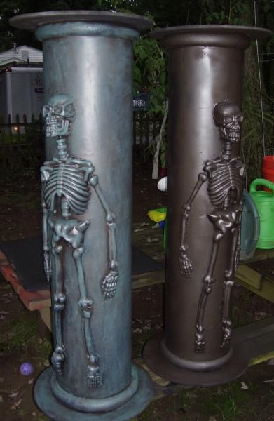 Stone Cemetery Columns : Best images about halloween cemetery gates arches