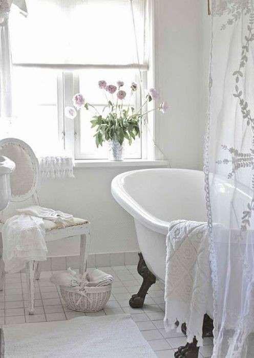 Tendenze arredamento bagno 2016 - Arredo bagno romantico
