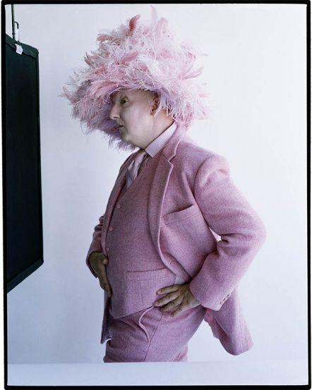 milliner Stephen Jones, British Vogue 2013. Photo by Tim Walker.