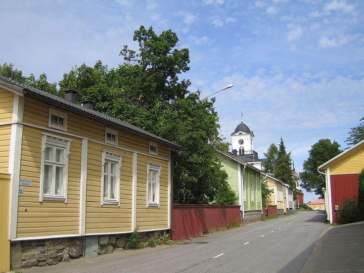 Kristiinankaupunki. Ostrobothnia province of Western Finland.- Pohjanmaa - Österbotten