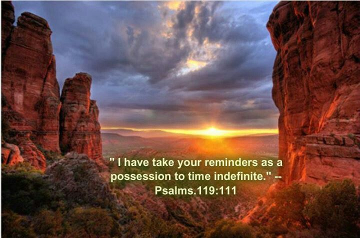 """To preserve our precious relationship with our heavenly Father, we must continue to apply Jehovah's wise instruction in our life. How fine it is if our attitude reflects that of the psalmist who wrote: """"I have taken your reminders as a possession to time indefinite, for they are the exultation of my heart""""! (Ps. 119:111) Do we similarly take delight in Jehovah's commandments, or do we sometimes view them as burdensome?"""