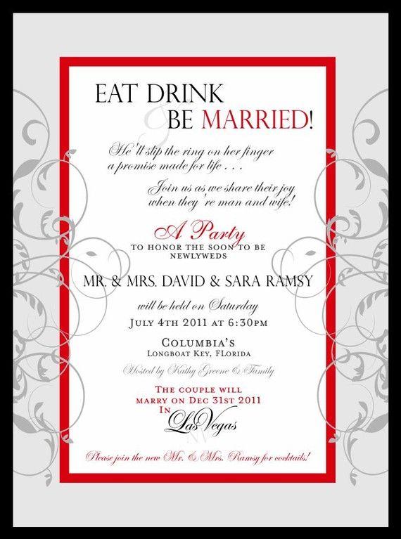 9 best Wedding Celebration Announcements images on Pinterest - best of formal invitation salutations