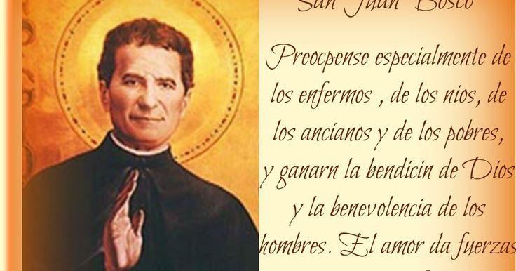 SAN JUAN BOSCO   ' Giovanni Melchior Bosco Ochienna'  I Becchi, Italia - Turín, Italia  (1815 †1888)  Beatificado el 2 de junio de...