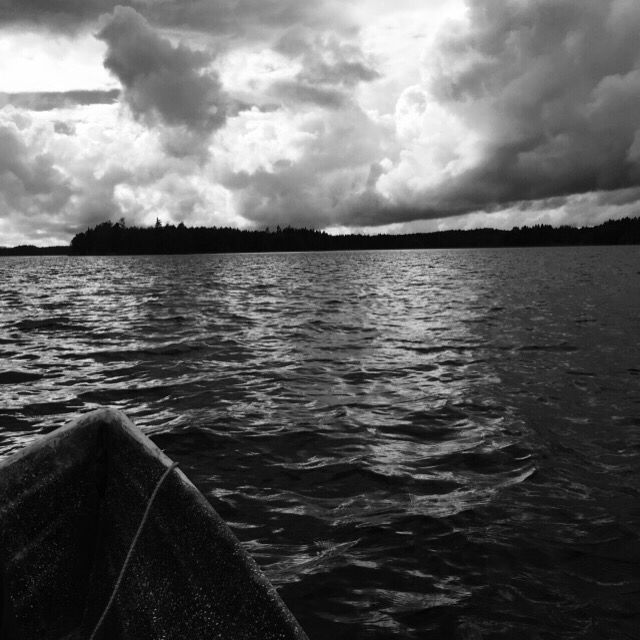 (C) Klaid-Erik Lanna #sea #lake #sunset #sun #beautiful #boat #fishing