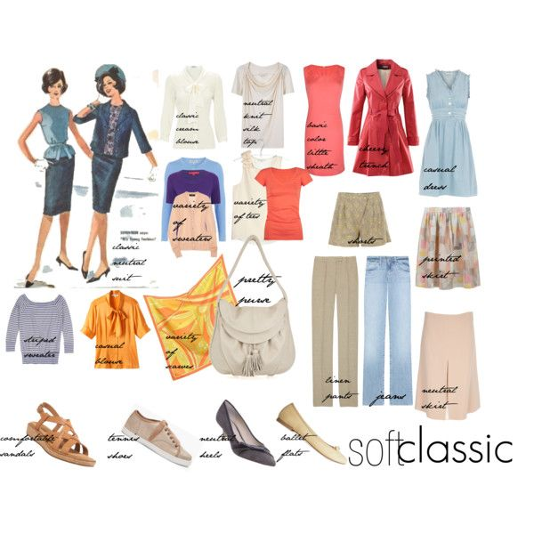soft classic wardrobe, created by mrfy on Polyvore
