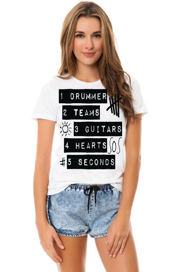 1 drummer 2 team 5 sos women tshirt Size S M L XL by Jacklontong, $18.00