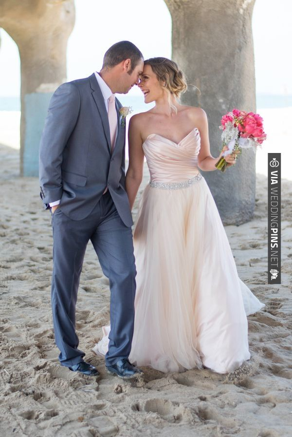 Barrenjoey headland wedding dress
