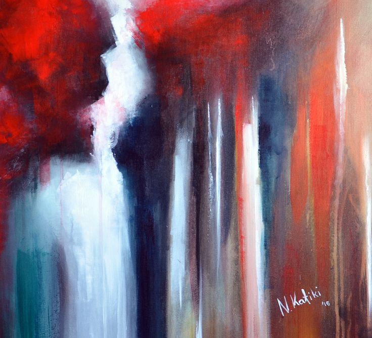 Desperation Acrylic on canvas by Niki Katiki