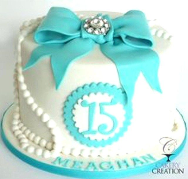 Magnificent 23 Creative Photo Of Birthday Cakes For 15 Years Old Girl 14Th Personalised Birthday Cards Veneteletsinfo