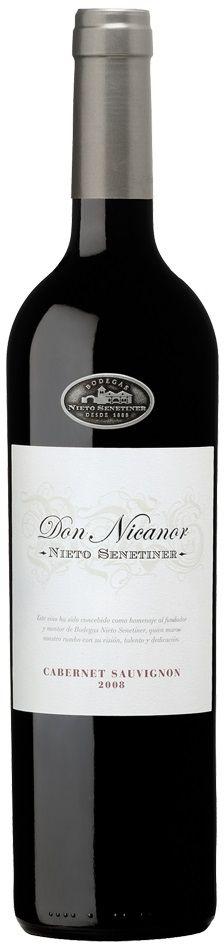 """""""Don Nicanor"""" Cabernet sauvignon 2012 - Bodega Nieto Senetiner, Luján de Cuyo------------- Terroir: Agrelo---------------------- Crianza: 12 meses en barricas de roble francés de segundo uso."""