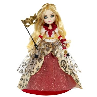 New 2014 Doll! EVER AFTER HIGH Doll Thronecoming Apple White