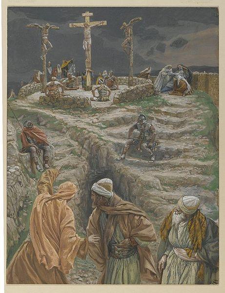 My God, My God, Why hast Thou forsaken Me?(Eli, Eli lama sabactani)Matthew 27:46Mark 15:34-35