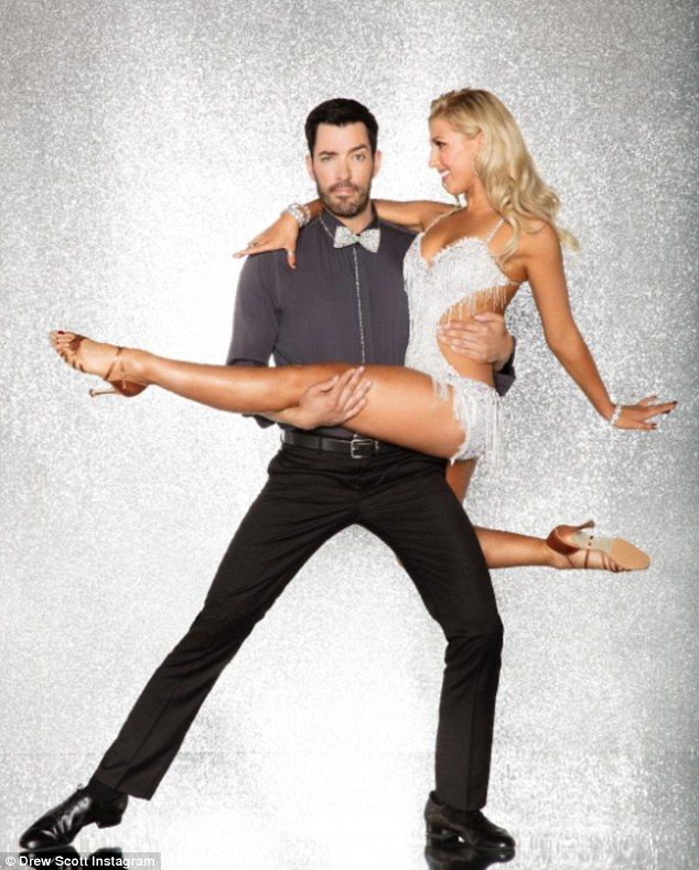 New guy: Property Brothers star Drew Scott will compete on Dancing With The Stars with Emma Slater, it was revealed on Wednesday