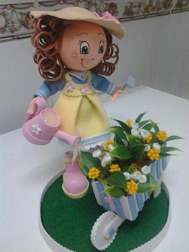 Fofucha jardinera