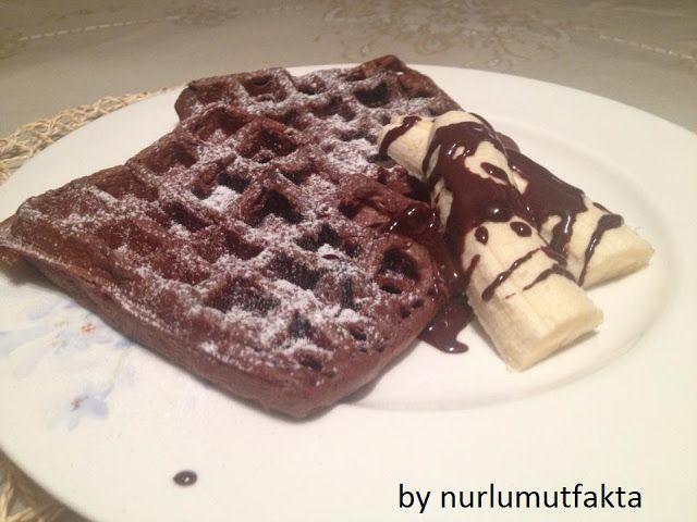 NURLUMUTFAKTA !!!: Çikolatalı Waffle