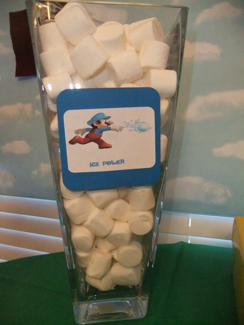 Super Mario Brothers Birthday Party Ideas | Photo 13 of 26 | Catch My Party