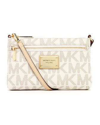 cheap michael kors outlet sale q3fz  $98 micheal kors crossbody bag Cute for summer! I get annoyed with big  purses when