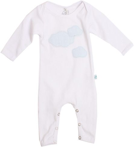 Clouds Polka Romper - Alex and Ant - Buckets and Spades for kids