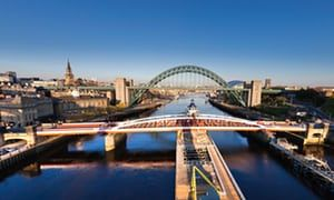 Toon and Tyne: Newcastle united … on a city strolling tour