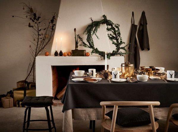 Kerst Tafel Decoratie : Erst 2016: h&m home kerst collectie u2013 h&m kerstdiner gedekte