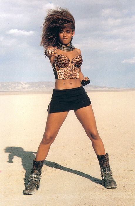 Yes. Scary Spice was a fashion icon for me growing up. Bad ass hard femme.