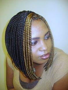 Crochet Box Braids In A Bob : braids crochet braids cornrows natural hair hairstyles for natural ...
