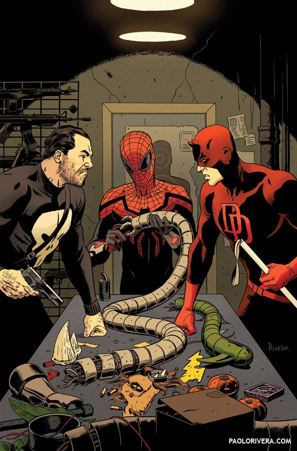 Superior Spider-Man Team-Up #9 by Paolo Rivera & Joe Rivera *