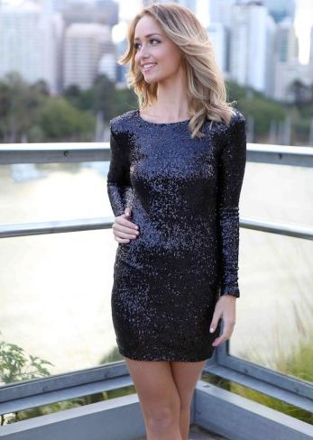 What's the sister dress to the LBD that every girl needs? The Little Black Sparkly Dress! Click here to get it!
