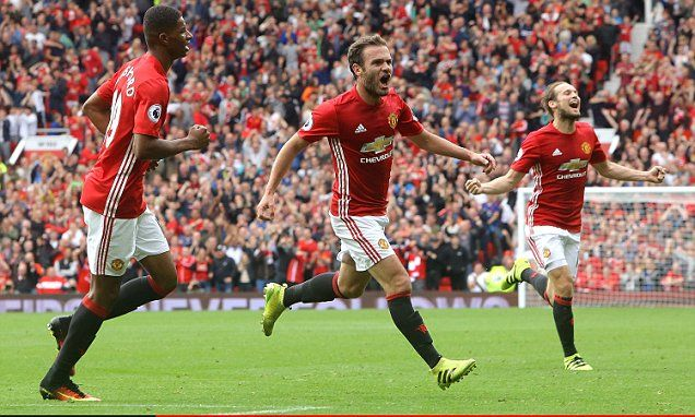 Mata admits United 'needed' victory over champions Leicester -        Juan Mata admits Manchester United needed Saturday's show of strength against reigning champions Leicester to get back on track.     The intern...