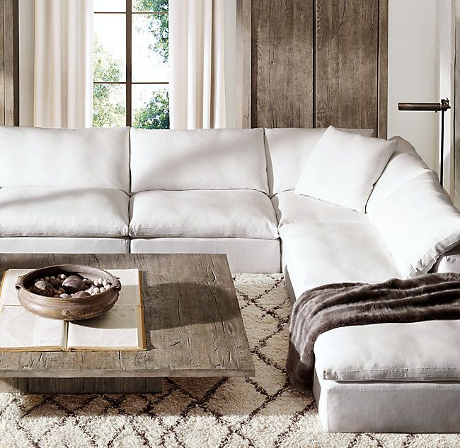 Restoration Hardware Sofa Collection: The Cloud Sofa The Cloud Collection Rh
