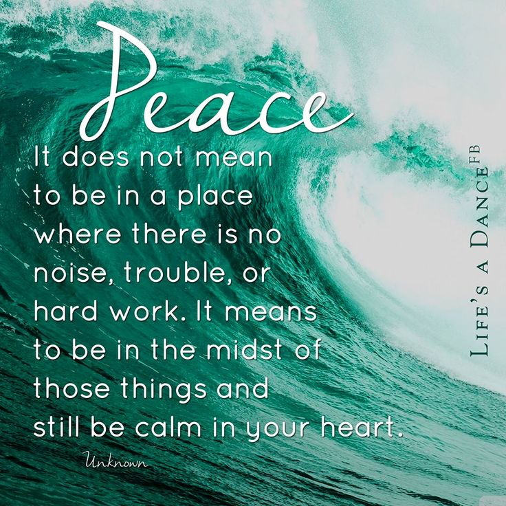 how to develop peace of mind