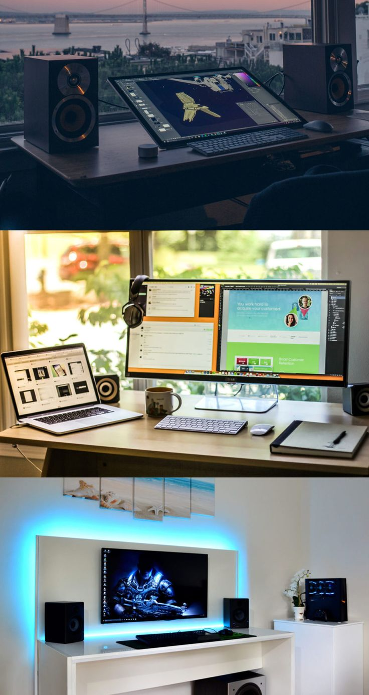 Desk setups are something that has fascinated Internet culture for years. We've rounded up a few of our favourite setups from across the internet. via @stuffstack