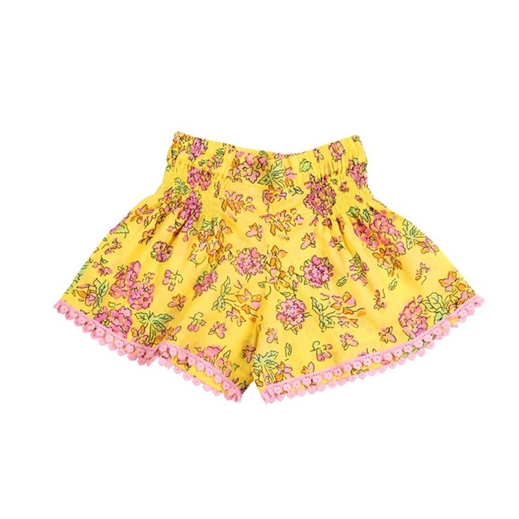 Coco & Ginger - Bluebelle Short - Yellow Greek Meadow