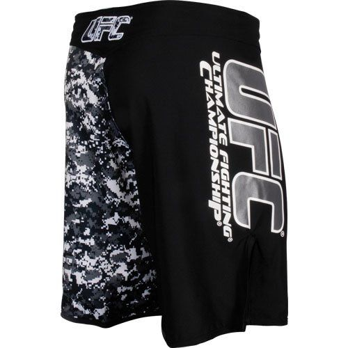 UFC Official MMA/Sports Black Grey Urban Street Camo Shorts  http://www.beststreetstyle.com/ufc-official-mmasports-black-grey-urban-street-camo-shorts/