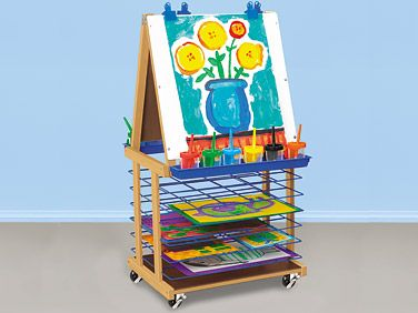 Double Easel with built in drying rack: Lakeshore Learning, Art Centers, Mobile Art, Mobiles Art, Dreams Classroom, Lakeshore Dreams, Center Lakeshoredreamclassroom, Art Projects, Spaces Sav Mobiles