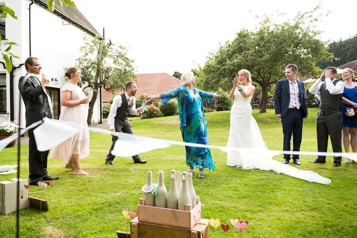 Wedding garden games