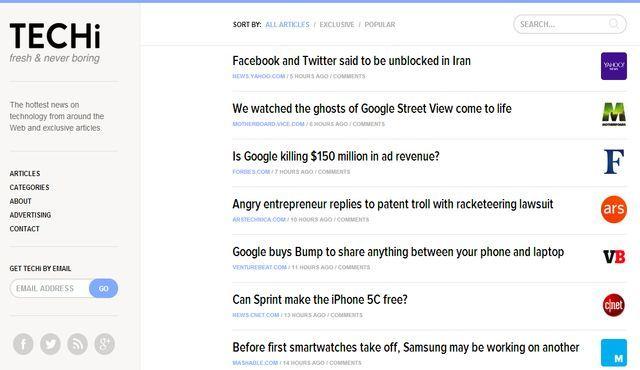Techi, las últimas noticias sobre tecnología que circulan por la red