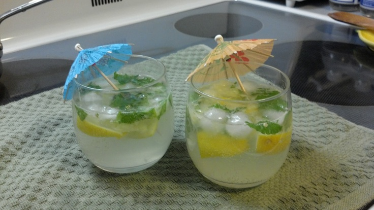 Crash in the Kitchen: Meyer Lemon Mojitos