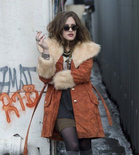 The Carly Chaikin Jacket is made of high-quality cotton fabric and Fur is used to give a cozy wearing. Feel free to shop this Mr. Robot Fur Jacket now.