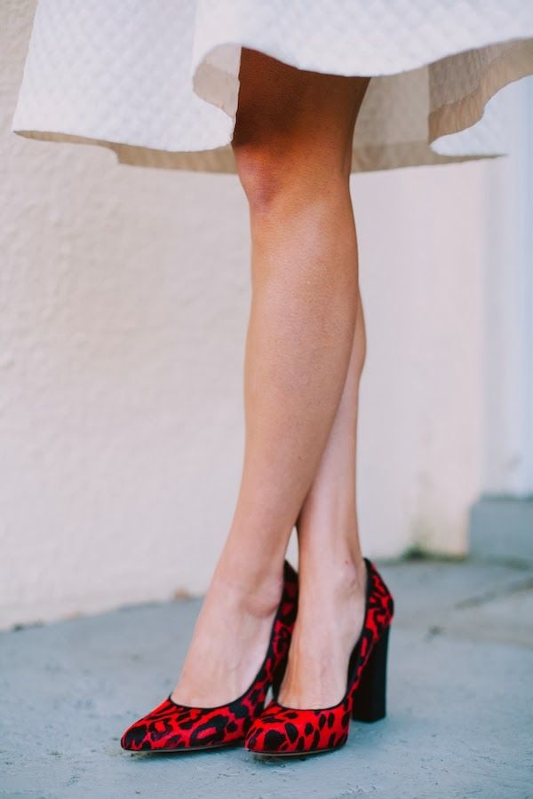 white + red: Leopard Shoes, Hot Shoes, Red Leopards, Leopards Shoes, Leopards Pumps, Red Shoes, Holidays Heels, Leopards Prints Heels, Patterns Mixed
